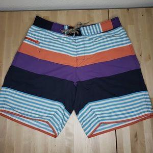 Patagonia Men's Wavefarer Board shorts colorful